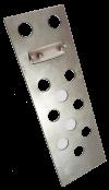 Планка за закрепване на плочки от естествен материал