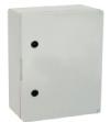 Поликарбонатен шкаф плътна врата 400х500х245 мм
