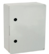 Поликарбонатен шкаф плътна врата 600х800х260 мм