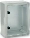 Поликарбонатен шкаф прозрачна врата 250х330х130 мм