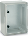 Поликарбонатен шкаф прозрачна врата 400х500х175 мм